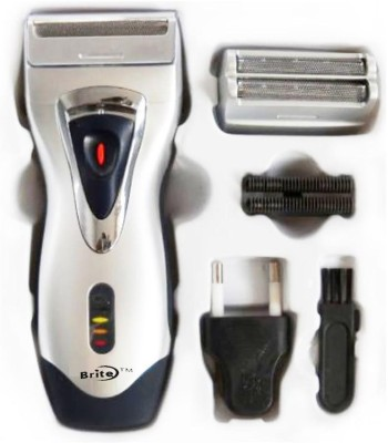 Brite Trimmer Cum Shaver BS 550 Shaver For Men (Multi Colour)