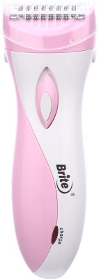 Brite JM's 2in1 Lady BLS-8833 Shaver For Women (Pink)
