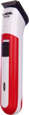 Mz Nova 2in1 Rechargeable NHC-3788 Trimmer For Men (Red)