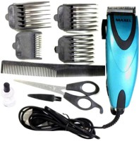 Maxel Electric Hair Clipper Set For Men Ak Clipper (Blue)