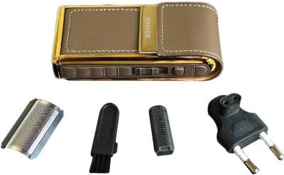 Promaxxindia Body Groomer KM-5500 Shaver For Men (Brown)