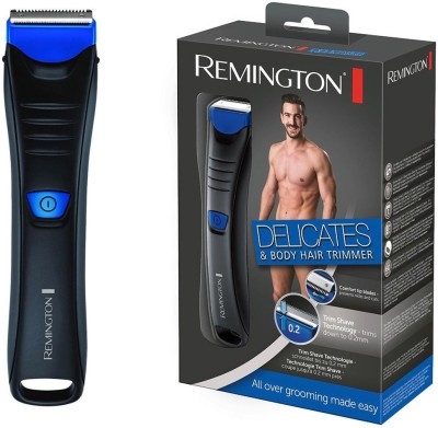 Remington Delicates & Body Hair Groomer BHT 250 Trimmer For Men (Black)
