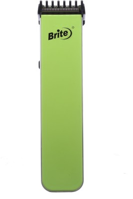 Brite JM's 2in1 Rechargeable BHT-216G Trimmer For Men (Green)