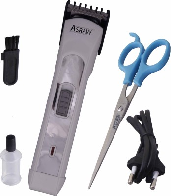 ASRAW Professional AST045 Trimmer For Men (White)