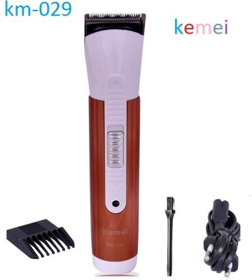Kemei Cordless km-029 Trimmer For Men (Brown)