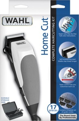 Wahl Home Multi Cut Clipper 9243-4724 Trimmer For Men (White, Black)