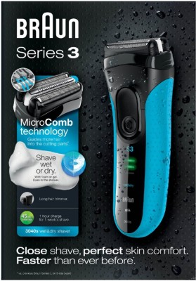 Braun Series 3 3040 Shaver For Men (Black)