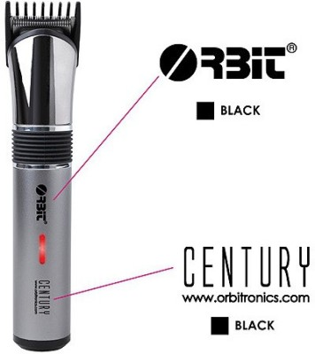 Orbit Century Rechargeable Hair Trimmer For Men (Silver)