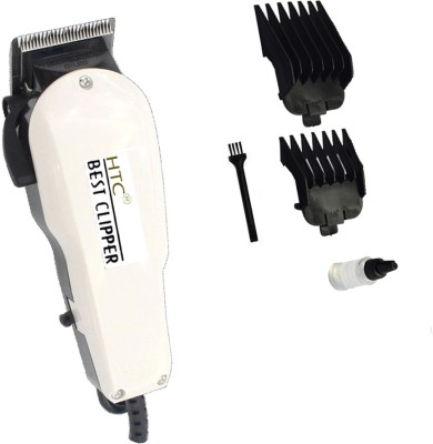 HTC Saloon Professional Hair Clipper CT-102 Clipper For Men (White)