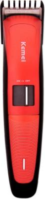 kemei Professional km-3118 Trimmer For Men (red, black)