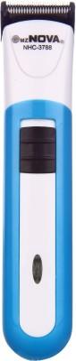 Mz Nova 2in1 Rechargeable NHC-3788 Trimmer For Men (Blue)