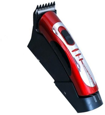 Brite Chargeable with Dock 907 Trimmer For Men (Red)