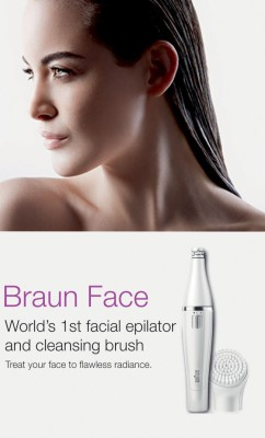 Braun Face 810 Epilator & Facial Cleanser For Women