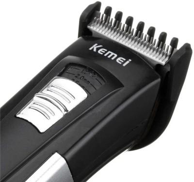 Kemei Professional High Quality Advanced Shaving System KM-3006 Grooming Kit For Men (BLACK)