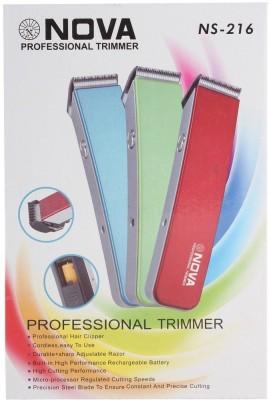 NOVA NS-216 NS-216 Trimmer For Men, Women (WHITE, BLUE, RED)