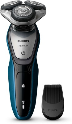 Philips Shaver S5420/06 Shaver For Men (Black/Blue)