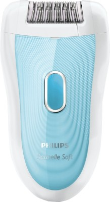 Philips Satinelle Advanced BRE210/00 Epilator For Women (White)