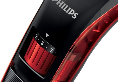 Philips QT 4006/15 Trimmer (Black, Red)