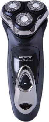 PRITECH Body Groomer RSM-1278 Shaver For Men (Grey)