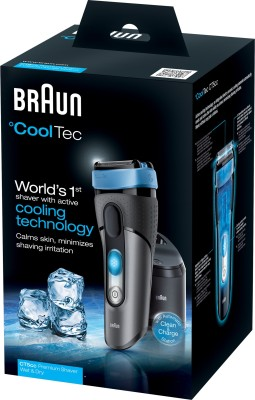 Braun CoolTec CT5cc ct5cc Shaver For Men (Grey)