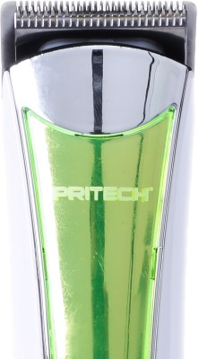 PRITECH Beard PR-1054 Trimmer For Men (green)