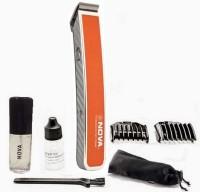 Nova Advanced Skin Friendly Precision NHT 1055 O Trimmer For Men (Orange)