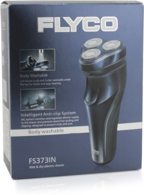 Flyco FS373IN Wet & Dry Shaver For Men (Blue)