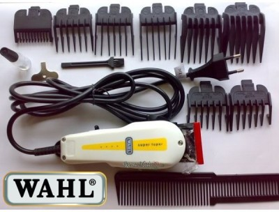 WAHL Body groomer wahl super-taper Clipper For Men (BLACK)
