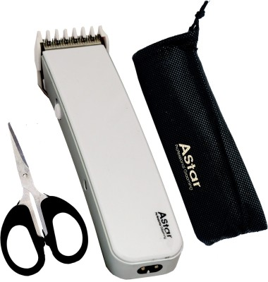 Astar Pro Gromming NMSK565 Trimmer For Men (White)