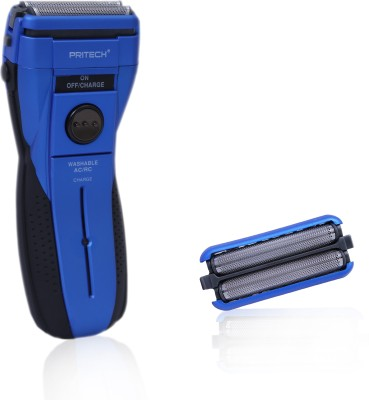 PRITECH Body Groomer RSM-1162 Shaver For Men (blue)
