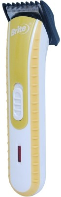 Brite 2 in 1 BHT 600 Trimmer For Men (Yellow)