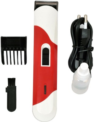 Udesh Apes Club 101 Trimmer For Men (Red And White)