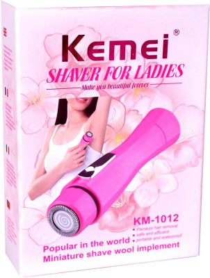 Kemei Professional KM-1012 Shaver For Women (Multicolor)
