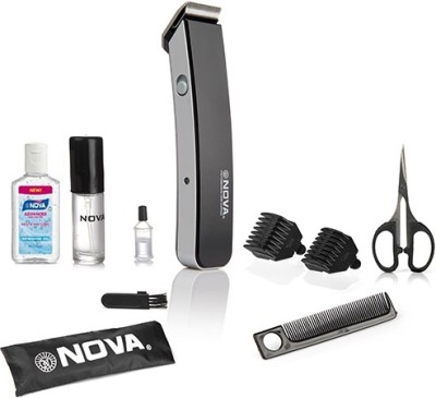 Nova Advance NHT 1047 BL Trimmer For Men (Black)