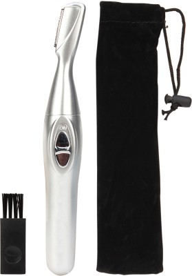 G-MOS Efficient EyeBrow Trimmer For Men, Women (Silver)
