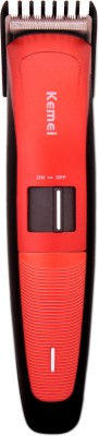 kemei Professional km-3118 Trimmer For Men (red)