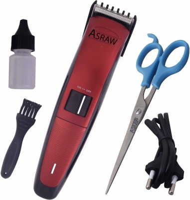 ASRAW Professional AST069 Trimmer For Men (Red)
