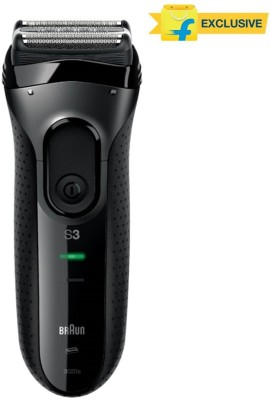 Braun Electric Foil Series 3 3020 Shaver For Men (Black)