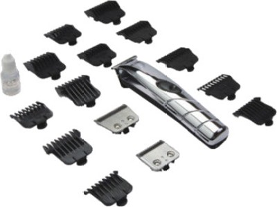 Buy Andis 2-in-1 18-Piece Clipper+Trimmer Cordless Travel Grooming Kit D4D Trimmer For Men: Shaver