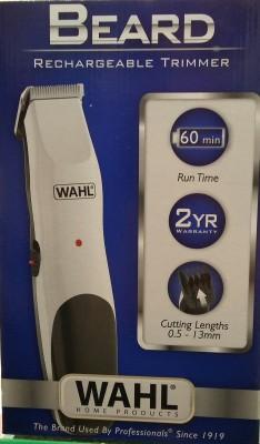 WAHL 9916-4224 BEARD Trimmer For Men (White&Black)