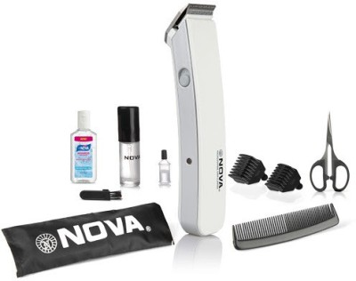Nova Advance NHT 1047 W Trimmer For Men (White)