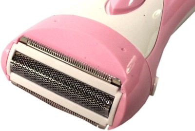 Kemei Rechargeable 3018 Shaver For Men, Women (Pink, White)