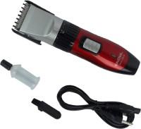 Nova Professional Hair Clipper NHC-3916 Trimmer For Men (Red)