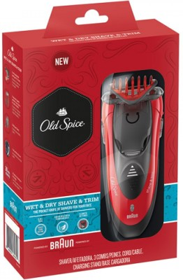 Braun Old Spice Shaver Trimmer For Men