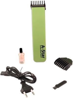 Astar Jhimli AS 2012 Trimmer For Men, Women (Green)