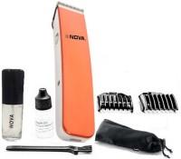 Nova Crystal Design Cordless Nht 1045 O Trimmer For Men (Orange)