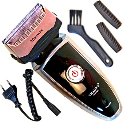 Chaoba Rechargeable Rscw-9200 Shaver For Men, Women (Black)