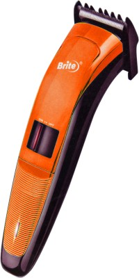 Brite Shaver Bht 801 Trimmer For Men (Orange)