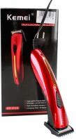 Tech Kemei Body Grommer 201b Trimmer For Men (Red)