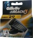 Gillette Mach 3 Cartridges: Shaving Cartridge